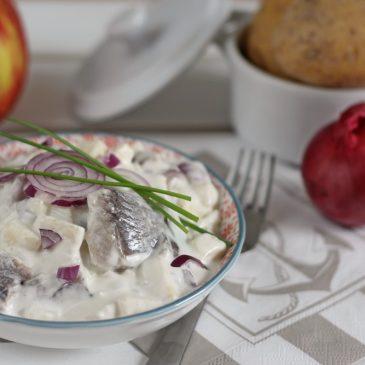 Ein Reiseandenken an Sylt – Matjes in Apfel Sahne Sauce
