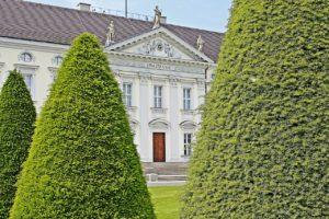 Deutschland, Blick auf Schloss Bellevue