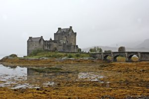 Europa, schottische Burg