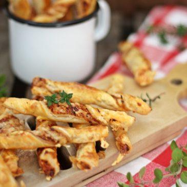 Pizzablätterstangen – Proviant für den Rucksack