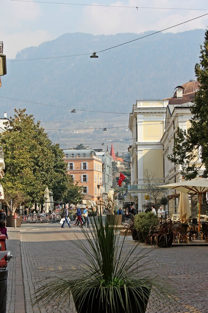 Bummel durch Meran, Südtirol, mildes Klima