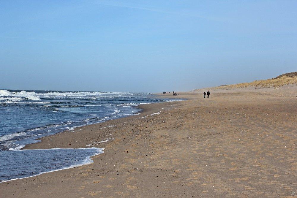 Sylt, Strandspazierung, Februar, Biike, Sansibar