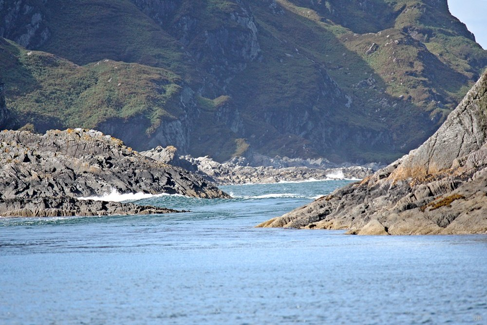 Brücke über den Atlantik, Easdale, Golf of Corryvreckan, Adventure Tour, Bootstour, Isle of Seil, Whirlpool,