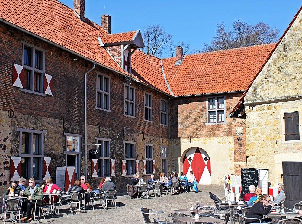 Radtour im Münsterland, Fahrrad fahren, Münsterland, Lüdinghauser Acht, Lüdinghausen, Wasserburg Vischering, Museum, Cafe Reitstall