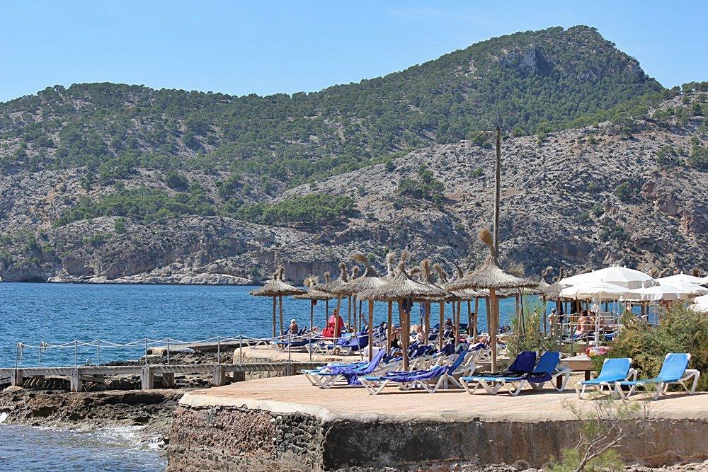 Olimar Gran Camp de Mar, Hotel, Mallorca, Camp de Mar, Hotelbeschreibung, Urlaubshappen, Solarium am Strand