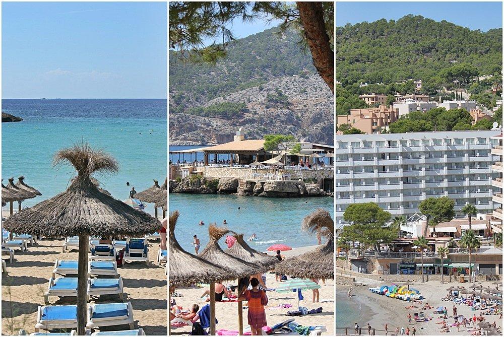 Mallorca, Camp de Mar, Hotelbeschreibung, Urlaubshappen, Strand