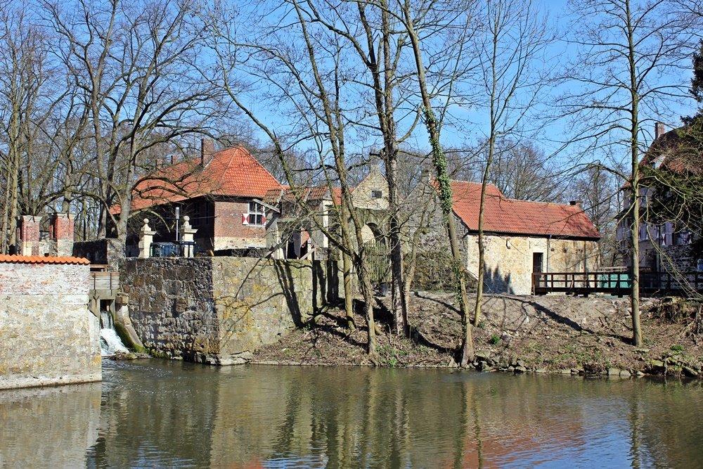 Radtour im Münsterland, Fahrrad fahren, Münsterland, Lüdinghauser Acht, Lüdinghausen, Wasserburg Vischering, Vorburg