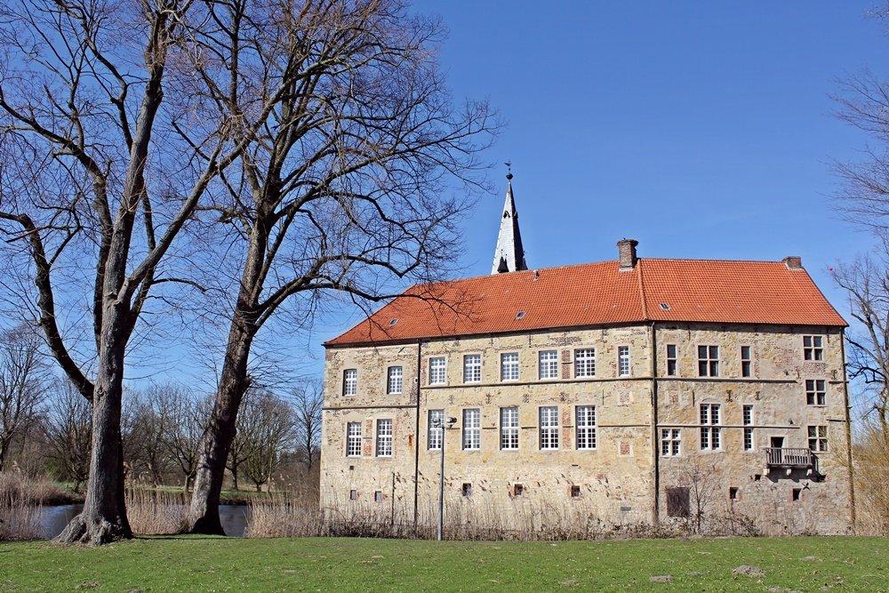 Radtour im Münsterland, Fahrrad fahren, Münsterland, Lüdinghauser Acht, Lüdinghausen, Lüdinghauser Burg