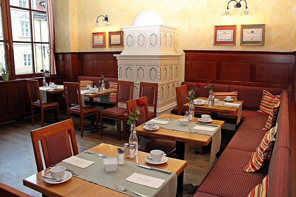 Hoteltipp für Wien, Frühstücksraum im Schick Hotel Rainer