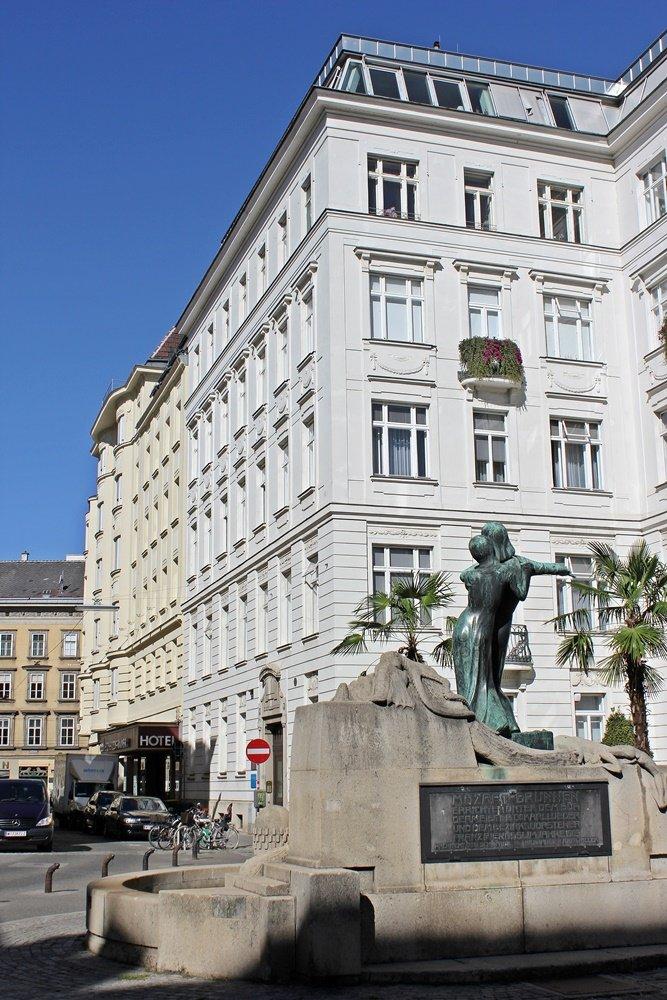 Hoteltipp für Wien, Schick Hotel Rainer von hinten