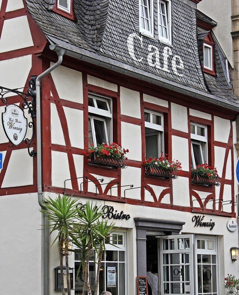 Kurztrip nach Andernach, Marktplatz, Cafe