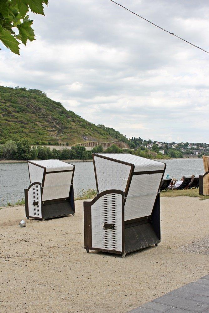 Rheinufer, Kurztrip nach Andernach