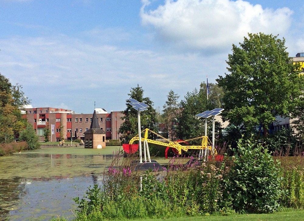 Shoppen in Enschede, Erlebnisstadt Enschede, Campus, University of Twente, Bloggerreise