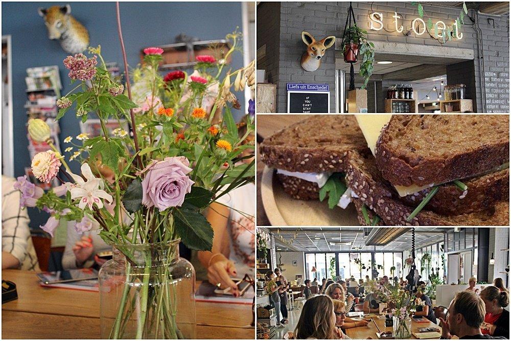 Shoppen in Enschede, Erlebnisstadt Enschede, Stoet, Lunch Cafe, Bloggerreise, Stullen