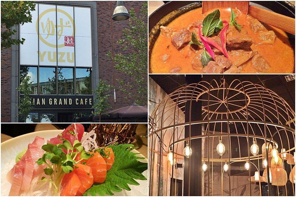 Erlebnisstadt Enschede, Yuzu Asian Gran Cafe, Dinner, Bloggerreise