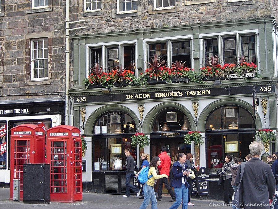 Cook-a-leekie-Soup, Edinburgh, Städtetrip,Pub