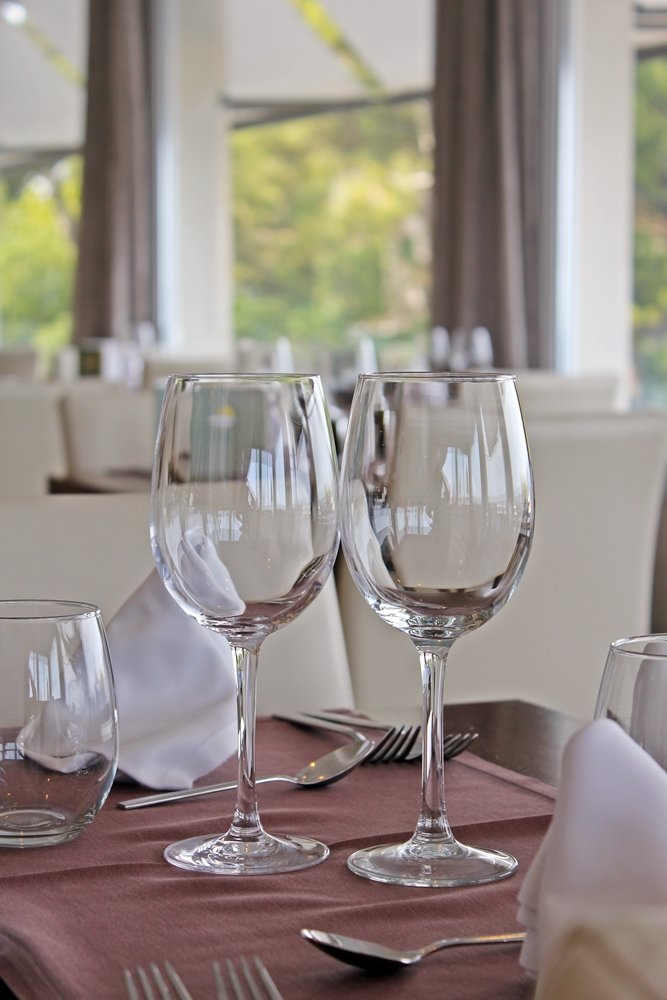 Gedeckter Tisch, Tui Sensimar Aguait, Hotel am Meer