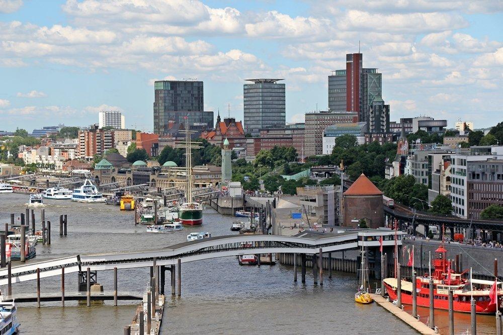 24 Stunden in Hamburg, Landungsbrücken