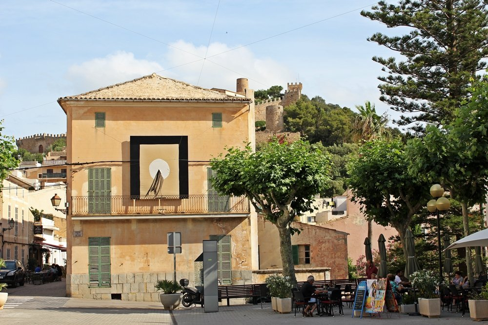 Mallorcas Ostküste, Capdepera, Marktplatz