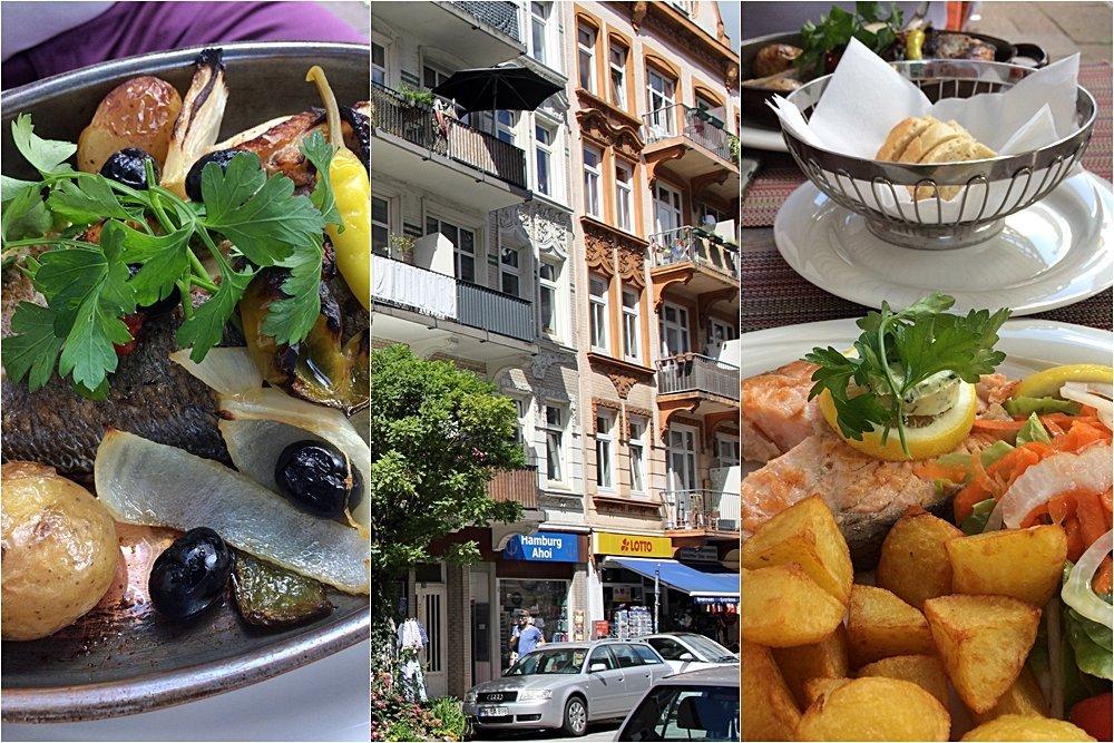 Essen im Portugiesischem Viertel, 24 Stunden in Hamburg