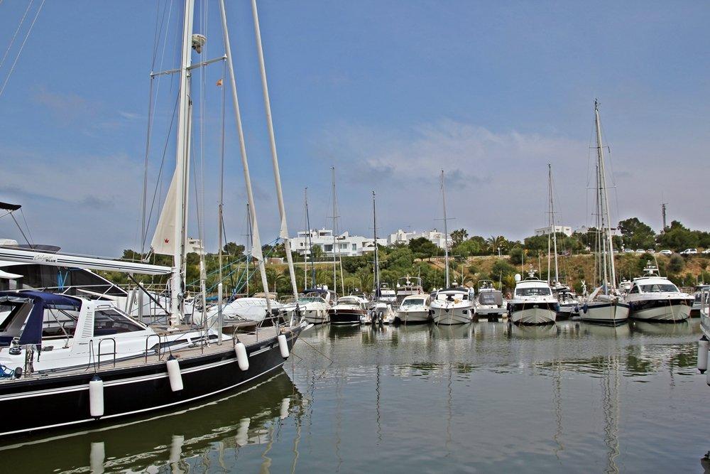 Cala d'Or, Mallorcas Ostküste, Yachthafen