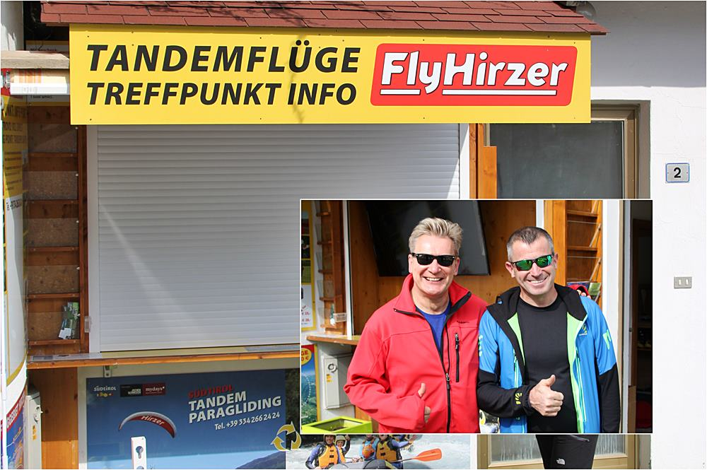 Erfahrungsbericht Gleitschirmfliegen Südtirol, Flugschule