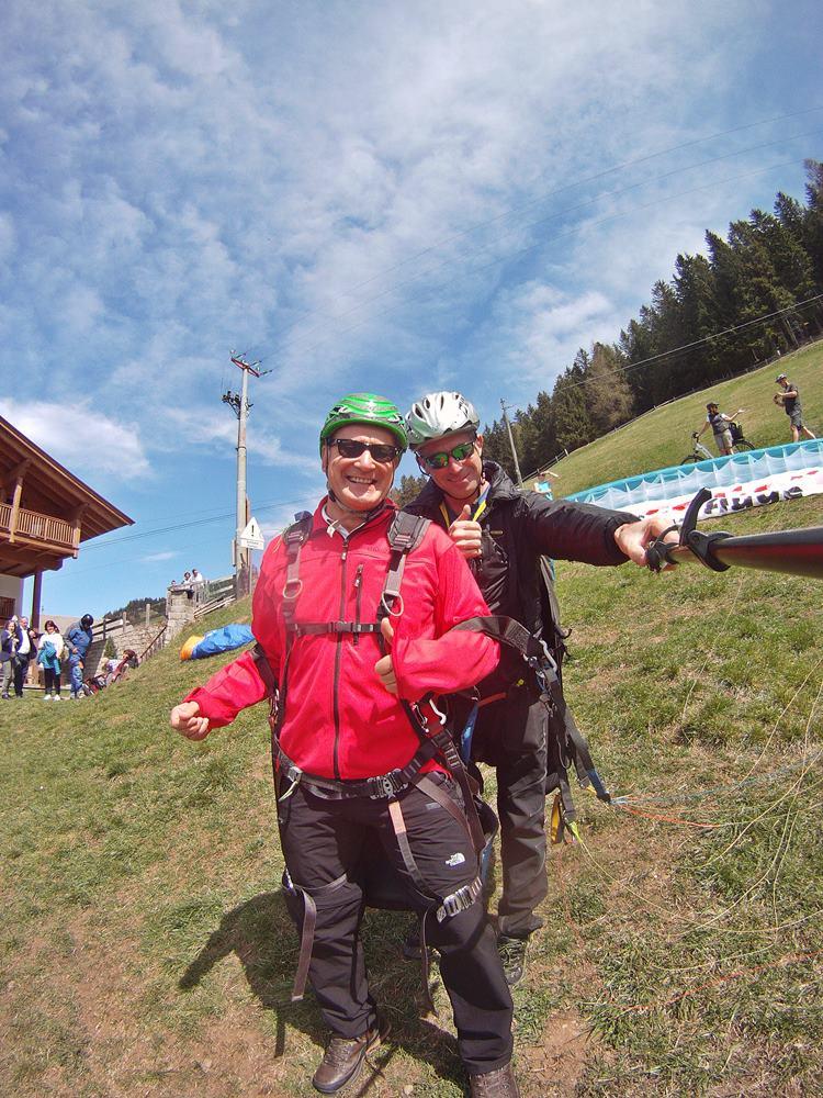 Gleitschirmfliegen Südtirol, Paragliding, Tandemflug