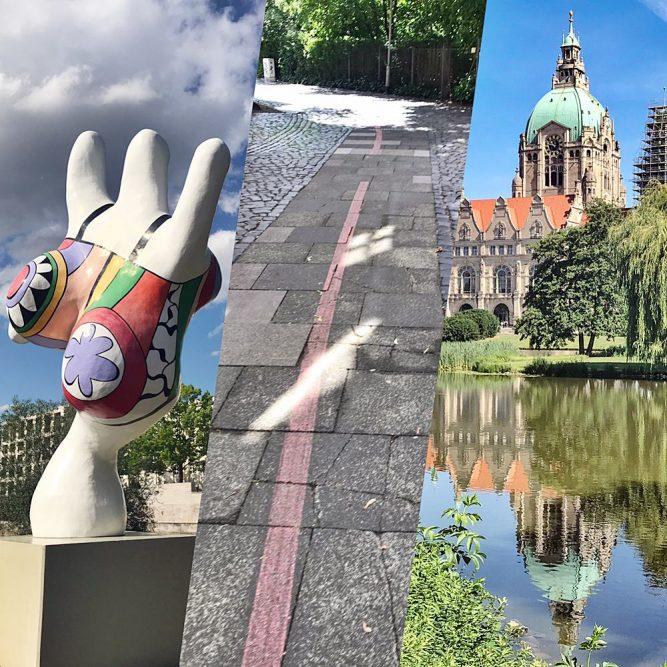 Der rote Faden in Hannover - Tipps um die Stadt auf  eigene Faust zu entdecken
