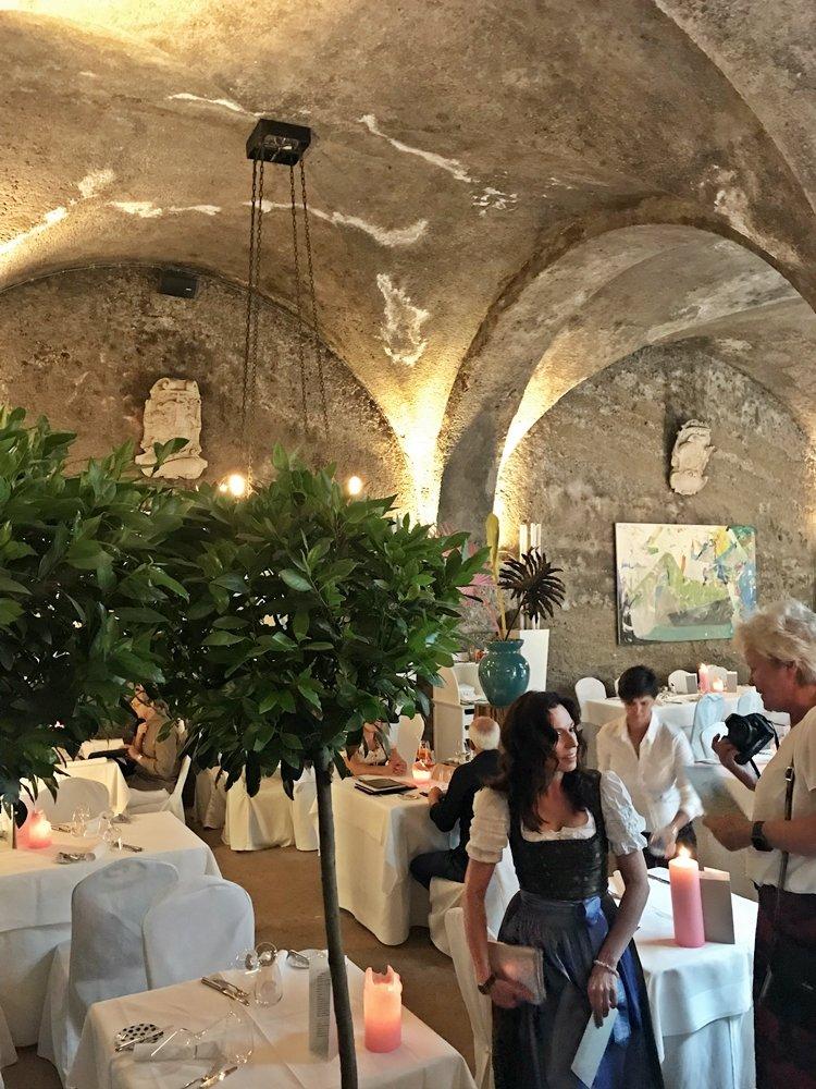 Salzburg zur Festspielzeit, Dinner im St. Peter Stiftskulinarum, Außergewöhnliches Wochenende