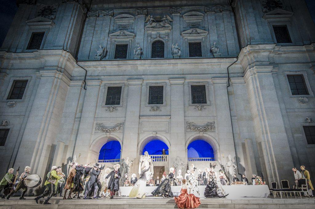 Festspiele in Salzburg, Bühne Jedermann