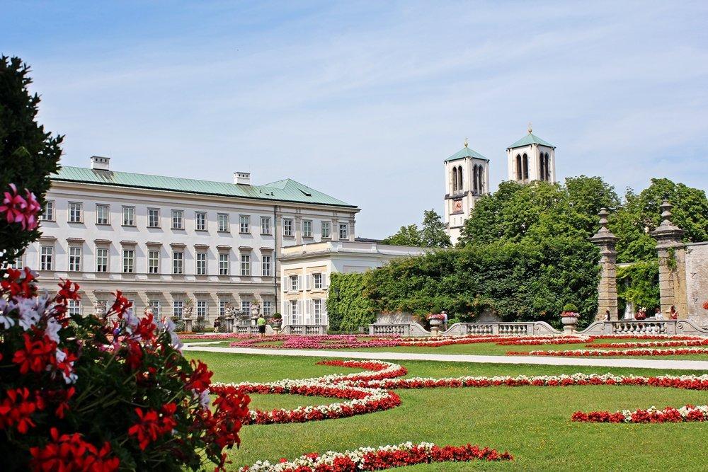 Mirabellgarten und Mirabellschloss