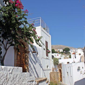 Ein Ausflugstipp für Rhodos - Lindos, die weiße Stadt