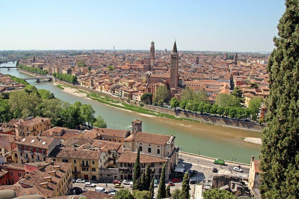 Blick auf Verona, Tipps für einen perfekten Tagesausflug nach Verona