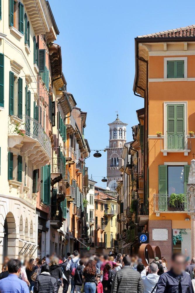 Via Mazzini, Verona