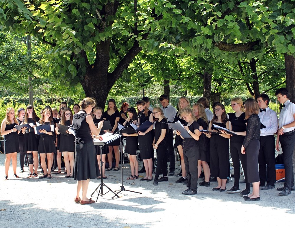 Festspiele in Salzburg, Mirabellgarten, Konzert
