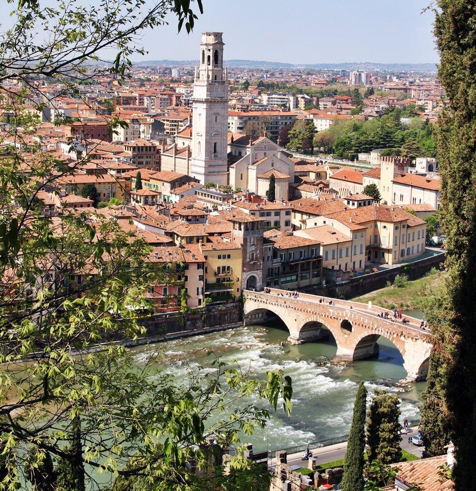 Tipps für einen perfekten Tagesausflug nach Verona, Blick auf Verona
