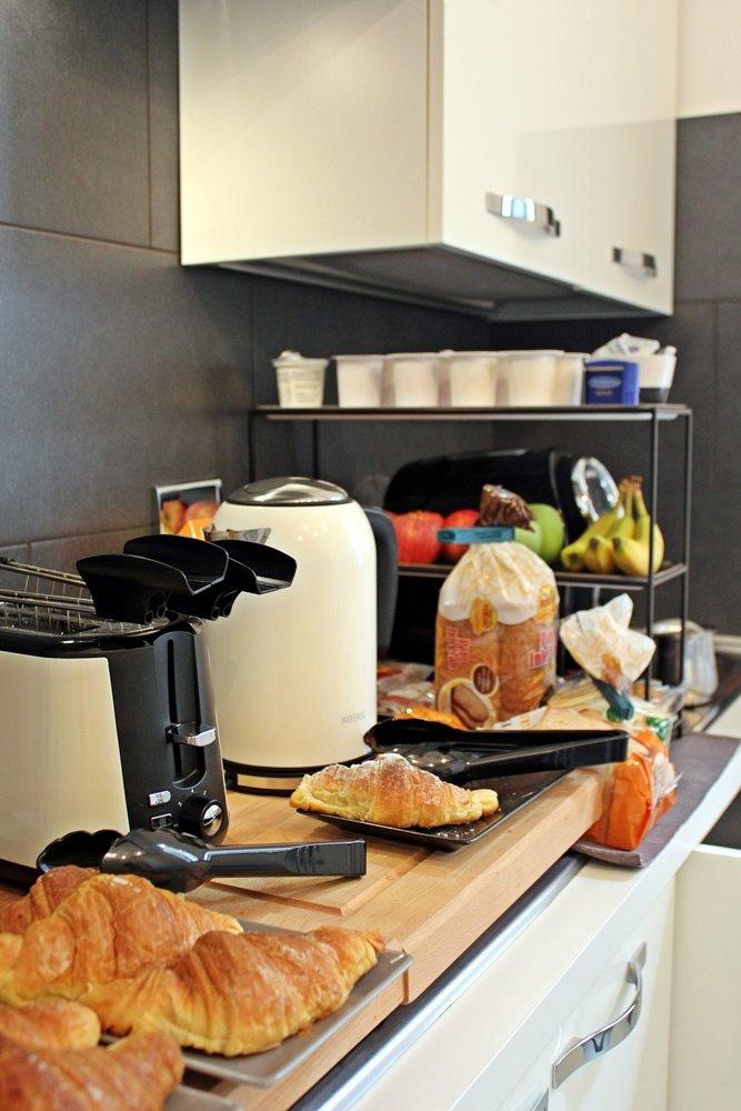 Reisetipp Rom, tolles Bed & Breakfast, The Upper Suites, Frühstück