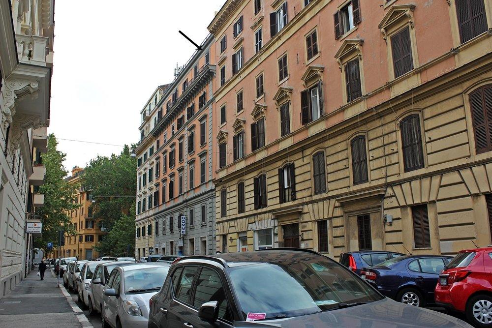 Reisetipp Rom, tolles Bed & Breakfast, Außenansicht The Upper Suites