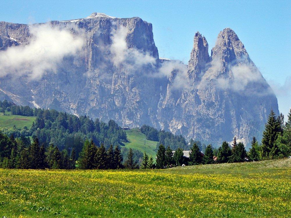 Was sollte man in Südtirol gemacht haben? Die Seiser Alm sollte man in Südtirol besucht haben