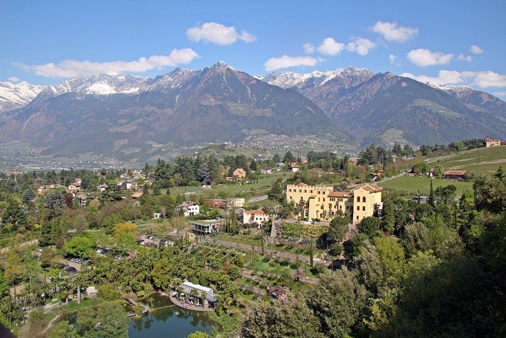Was sollte man in Südtirol gemacht haben? Die Botanischen Gärten im Schloss Trauttmansdorff besuchen