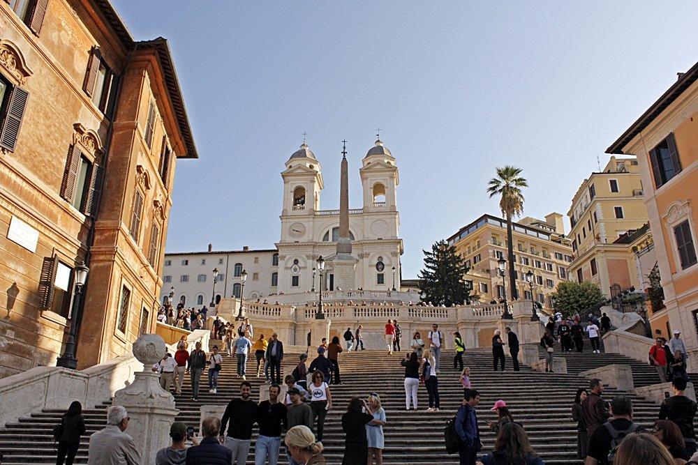 Rom zu Fuß erleben - eine Tagestour mit den schönsten Sehenswürdigkeiten zur Spanischen Treppe